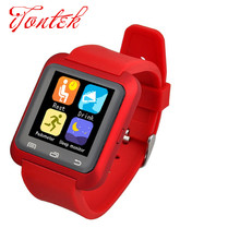 Free shipping (Upgraded Version)  U80 Smart Watch for iphone 5/5C/5S/6/6 Puls Samsung S3/S4/S5 Note 2/Note 3 Note 4 HTC