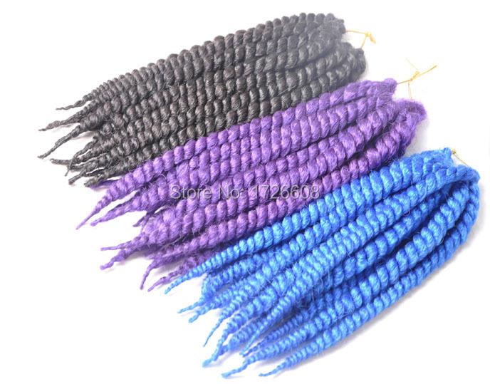Crochet Hair In Purple : Purple Crochet Havana mambo twists Jumbo braids Marley twist hair View ...
