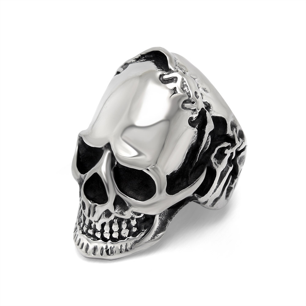 Classic Skull Ring domineering personality offbeat skull ring Dongguan jewelry manufacturers SA864 316L stainless steel(China (Mainland))