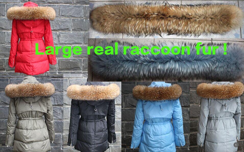 Winter Jacket Женщины 2015 Large Мех Воротник Закрытый Хлопок Down Parka Female Outwear ...