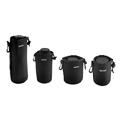 In stock 1pc Matin Neoprene waterproof Soft Camera Lens Pouch bag Case S M L XL