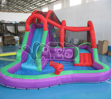 Backyard inflatable water park,inflatable water slide game,water slide with pool(China (Mainland))