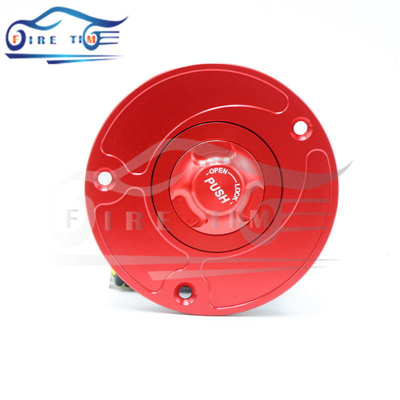 motorcycle parts red colors fuel gas tank cap cover aluminum alloy fuel cap for DUCATI 848 &amp; 1098 all years 5 different colors<br><br>Aliexpress