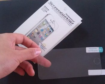 High Quality for iphone 5s 5G 5th screen protector guard,with retail package,DHL Free Shipping 300PCS/LOT