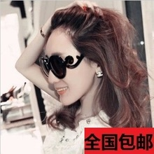 High quality Spoondrifts butterfly wings fashion round glasses sunglasses women's vintage circle sunglasses