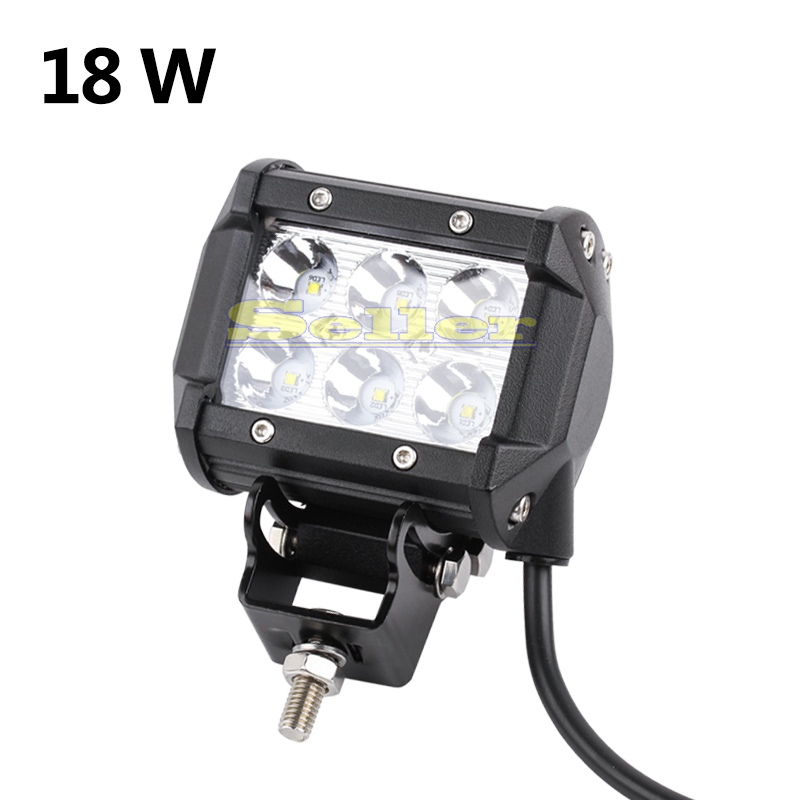 20pcs 4inch 18W CREE LED Offroad Driving Work Spot Light Bar truck BOAT UTE Car LED Lamp car led bulbs parking 12V 6000K(China (Mainland))