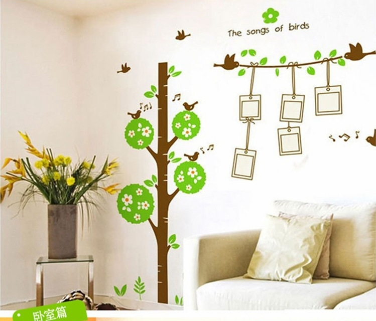 Wall Sticker Ideas For Living Room