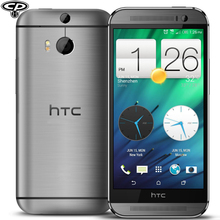 "Original HTC One M8 Unlocked Quad-Core 4MP 3 Cameras Android4.4.2 RAM 2GB 32GB ROM GSM 3G WCDMA 5.0"" Mobile Phone Refurbished(China (Mainland))"