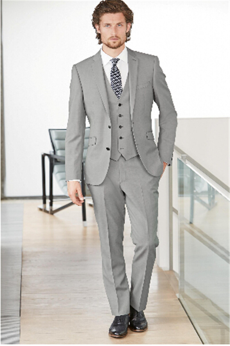 Grey Suit Prom - Ocodea.com