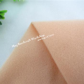 Half Meter Khaki Doll Skin Fleece Fabric Tilda Solid Color Plush Cloth for Sewing Patchwork Quilting Flesh Tissue150*50cm