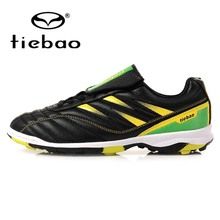 TIEBAO Professional Outdoor Soccer Shoes TF Turf Sole Football Shoes Sneakers Children Kids Teenagers Athletic Training Shoes(China (Mainland))