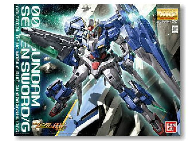 Assembly model 1:100 MG Gundam Seven Sword 00gundam Free shipping(China (Mainland))