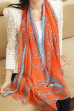 2015 Big size Bohemia national trend scarf female rhombus geometry  fashion scarf women free shipping(China (Mainland))