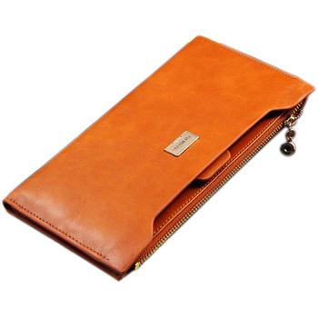 Горячая распродажа искусственная кожа женщин бумажник 5 цвета молния многофункциональные ...