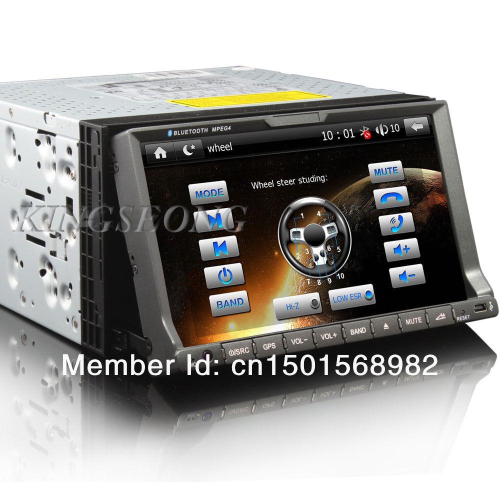7 2 din car electronics universal car multimedia system with gps ipod radio dvb t bluetooth usb. Black Bedroom Furniture Sets. Home Design Ideas