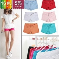 IMIXBOX Women's Colorful Shorts Candy Pencil short Pant/Hot Pant Best Selling Free Shipping W3043