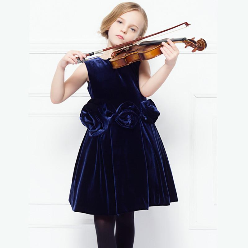 brand toddler big young girl dress child summer birthday sleeveless kids girls dresses 2015