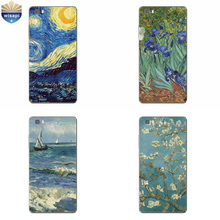 Phone Case Huawei P8/P8 P9 Lite Plus G9 Shell Honor 4A 4C 5C 7 7I Back Cover Mate 8 Cellphone Van Gogh Design Painted - WISAPI Store store