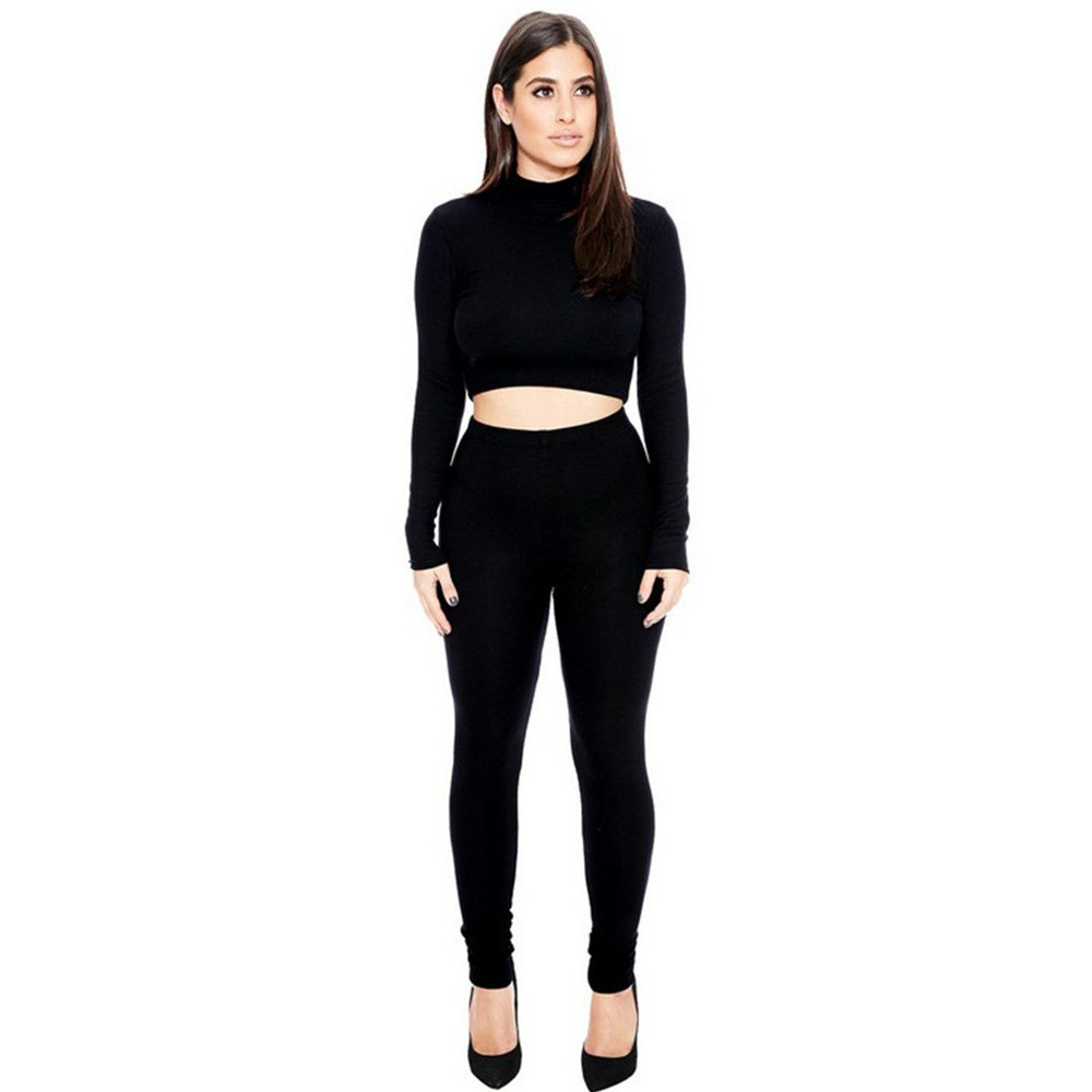 Women's clothing Sets Running Gym Sports 2pcs fitness Top and Leggings long sleeve 2 pcs suits sport sets(China (Mainland))