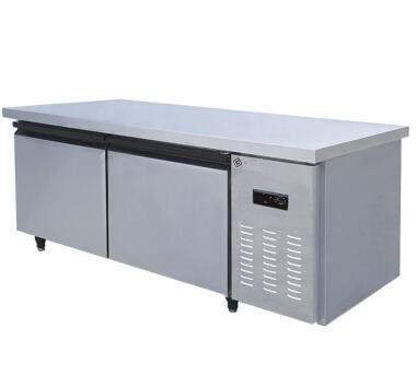 -15~0 degrees 1800mm brass tube freeze Workbench kitchen refrigerator freezer(Hong Kong)