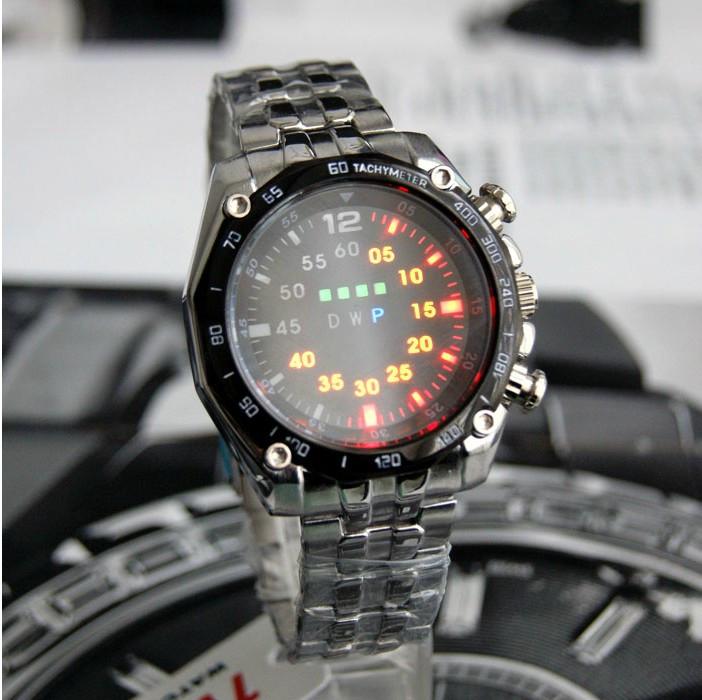 2016-Hot-TVG-Men-Digital-Watch-Stainless-Steel-Strap-LED-Light-Round-Case-Water-Resistent-Night