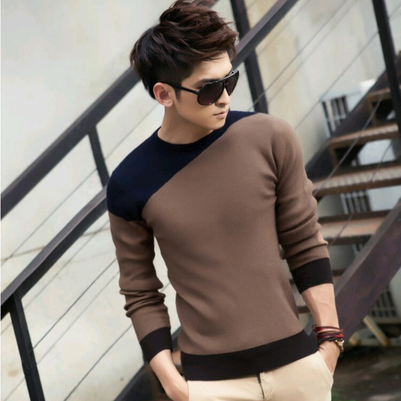 2015 autumn and winter men sweater , men's clothing, o-neck pullover sweater men, hot sale mens sweaters, free shipping(China (Mainland))