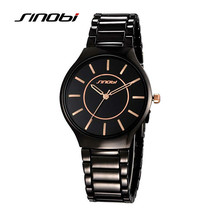 SINOBI New Slim Clock Men Casual Sport Quartz Watch Mens Watches Top Brand Luxury Quartz watch