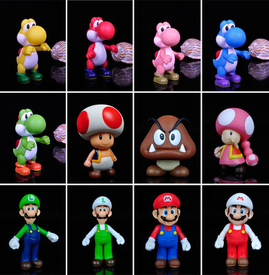 Hot new Super Mario Bros INCH Figure Toy CHOOSE ONE FROM 12(China (Mainland))