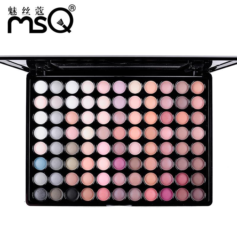 2016 HOT 88 professional eye shadow color warm color eye make-up series High quality makeup eyeshadow set 4 color optional(China (Mainland))