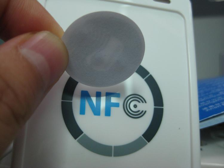 Гаджет  10 NFC Tags for Samsung Galaxy S4 !! GS4 (NTAG203) & all others None Безопасность и защита