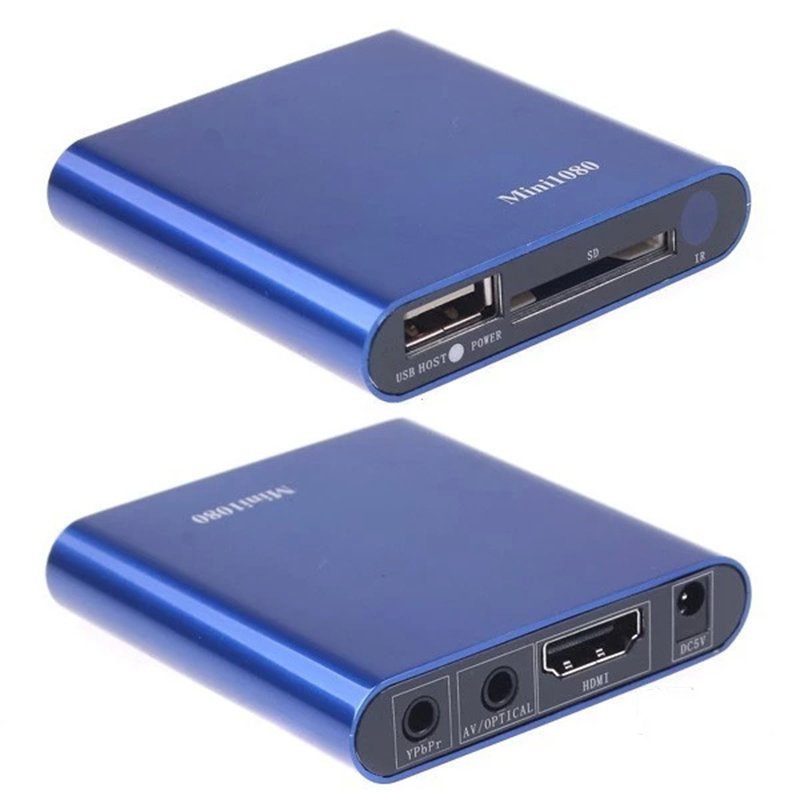 2015 новый мини медиаплеер мини 1080 P HDMI SD / USB HD медиаплеер MKV / RM / RMVB бесплатная доставка - OLTEM - бытовая техника