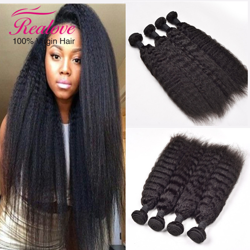 malaysian virgin hair 3pcs/lot 6A kinky straight hair 8-28 malaysian kinky straight hair human hair free shipping no tangle<br><br>Aliexpress