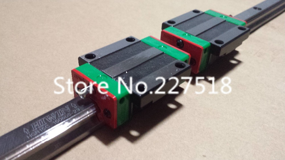 2pcs 100% Original New HIWIN linear guide block/Carriages/car HG15 HGW15CA HGW15CC HGR15 for CNC parts(China (Mainland))