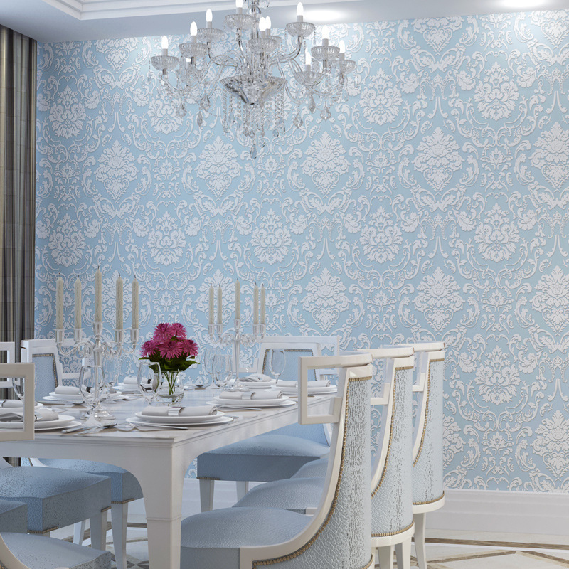 wallpaper for walls 3 d relief Hotel beauty salon works wallpaper the living room TV backdrop aisle Papel De Parede wall paper(China (Mainland))