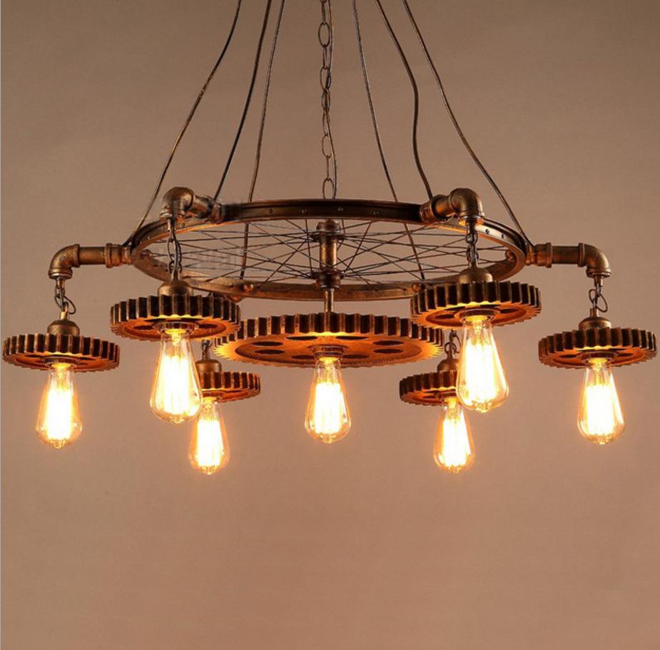 Online Get Cheap Edison Light Fixtures Rustic Aliexpress – Cheap Rustic Chandeliers