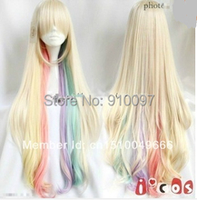 free shipping>>>>Hot Sell!!! Harajuku wig the VOCALOID MAYU cosplay wig colorful long wigs