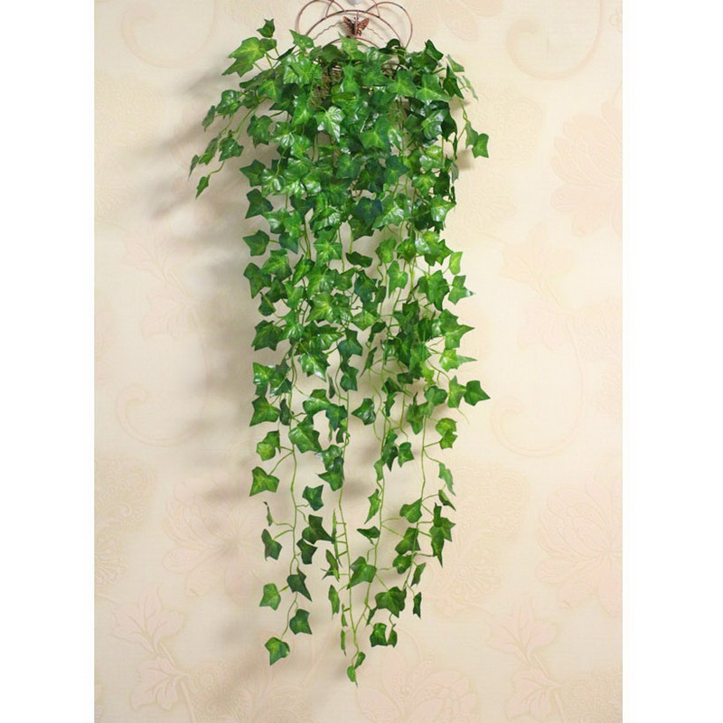 Eco-friendly Artificial Green Wall mounted Decor Flower Vine Rattan Home Decoration VBC71 P50(China (Mainland))