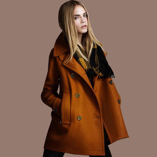 Long Brown Coat Womens - Black Coat