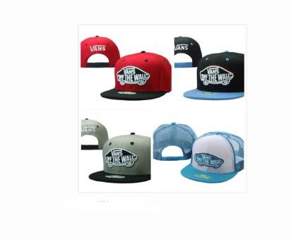 2015 band off the wall vanses Snapback hats for men women summer black snapback cap free shipping 99 colors(China (Mainland))