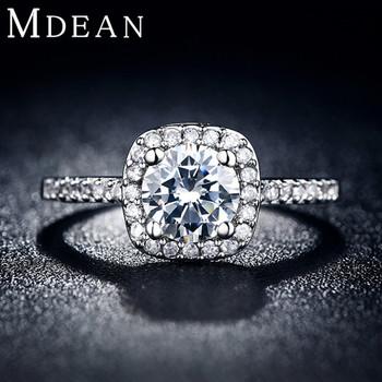 S925 обручальные кольца для женщин покрынная платина ювелирные роскошные кольца обручальное ...