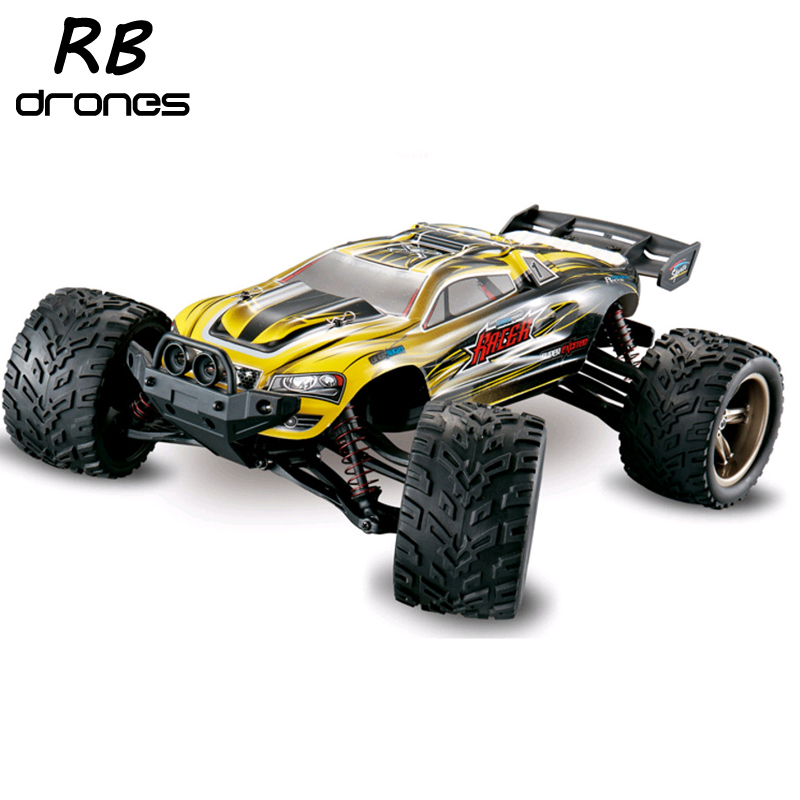 Big RC Car 9116 1/12 2WD Brushed High Speed RC Monster Truck RTR 2.4GHz Good Children's toy(China (Mainland))