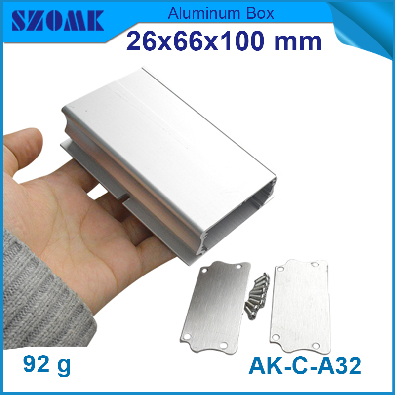 10 pcs/lot silver mental box with arched angle at seam which is elegant and smooth for industry &amp; factory, project &amp; junction<br><br>Aliexpress