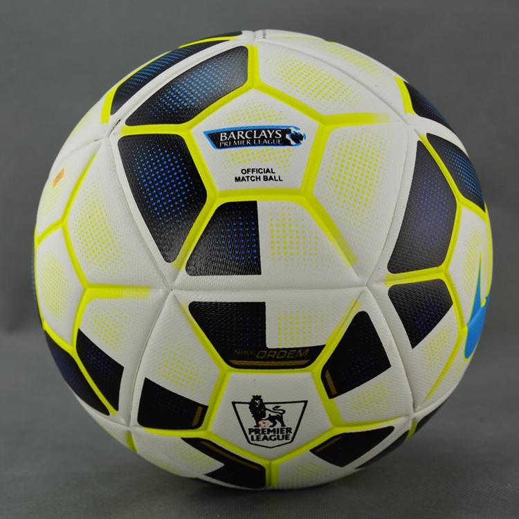 New 2015-2016 Premier League for match football granules slip-resistant soccer ball seamless Size 5 Football Ball(China (Mainland))