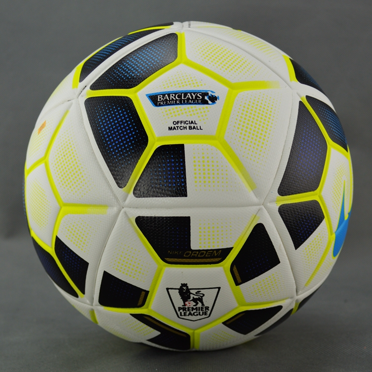 New 2015-2016 Premier League for match football granules slip-resistant soccer ball seamless Size 5 Football Ball(China (Mainland))