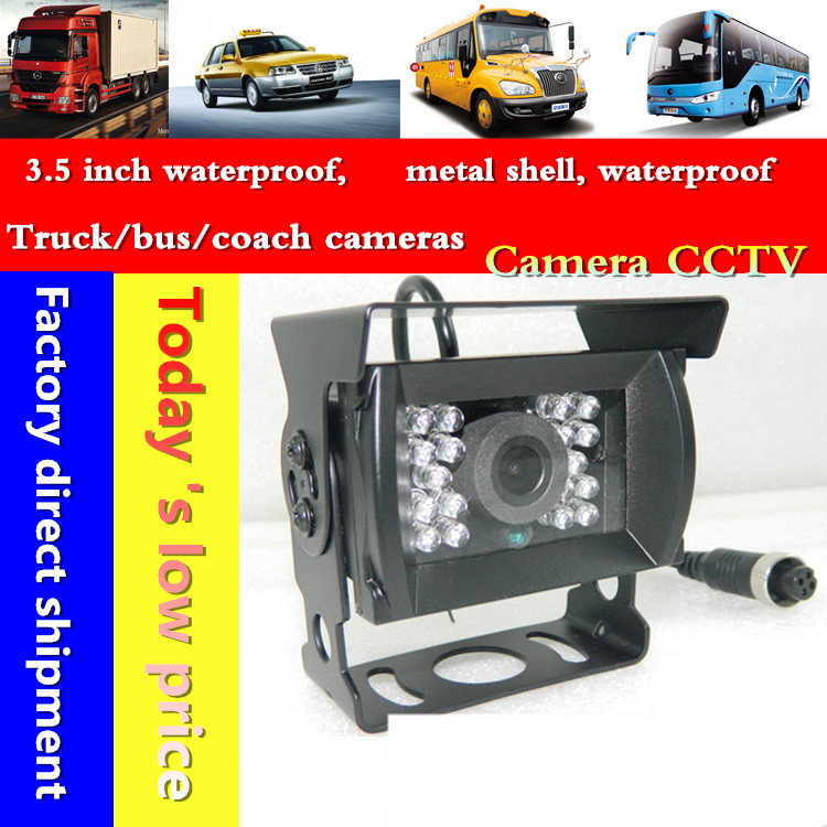 700TVL CMOS Rear View Camera Waterproof for view behind the truck school bus car camera(China (Mainland))