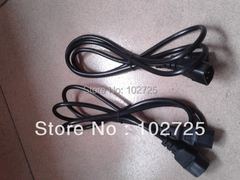 free shipping IEC power cable extension cord for battery recharging light