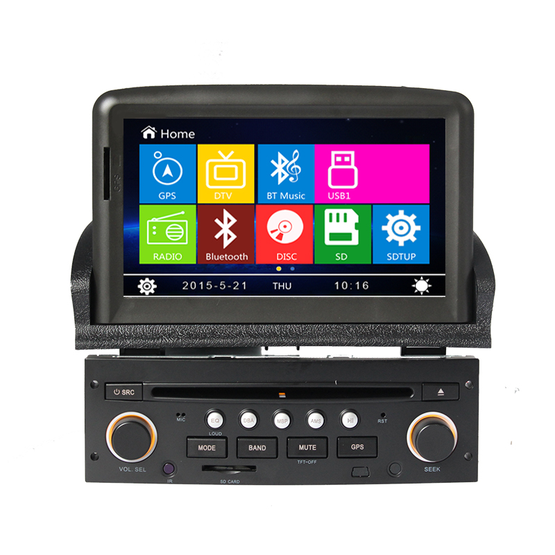 online buy wholesale peugeot 307 car dvd gps navigation. Black Bedroom Furniture Sets. Home Design Ideas