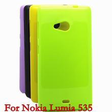 Free Shipping For LUMIA 535 Soft TPU Case Mobile Phone Case for Nokia Lumia 535 case cover