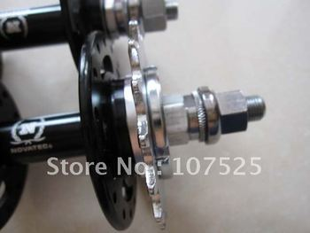 novatec track hubs, fixed gear hubs for bicycle wheels, A165SBT/A166SBT