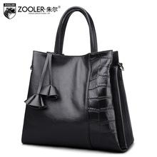 Women Brand Genuine Leather Handbag Alligator Large Female Classic Shoulder Bag Ladies European Luxury Vintage Casual